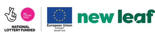 Lottery Funded European Union Social Fund + Newleaf